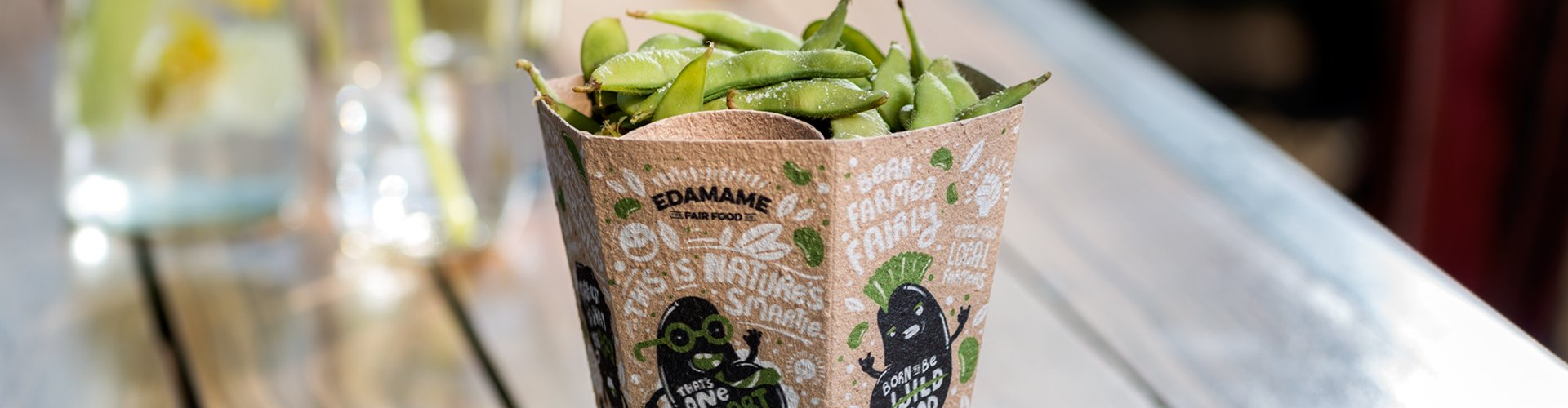 THB Disturbance created Edamame Packages