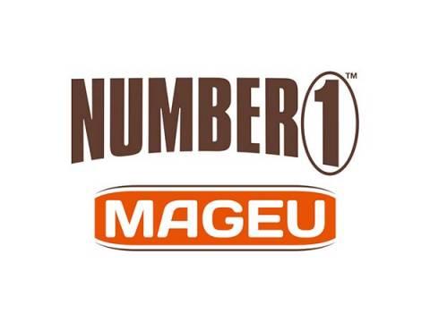 NUMBER 1 MAGEU LOGO